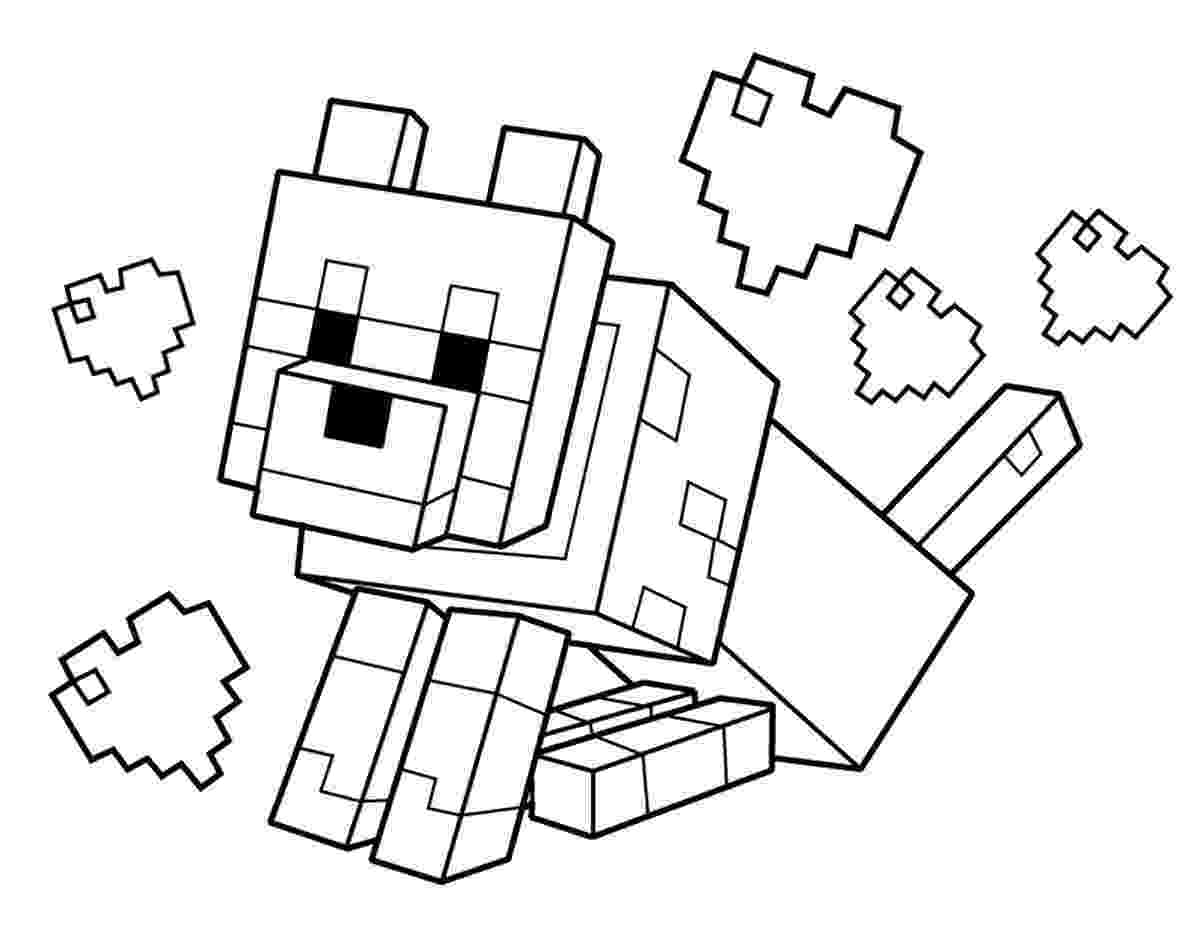 minecraft color pictures minecraft coloring pages best coloring pages for kids pictures color minecraft