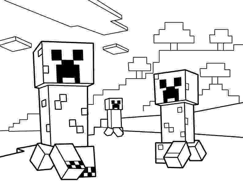 minecraft coloring pages printable minecraft steve creeper enderman free printable coloring printable minecraft pages coloring