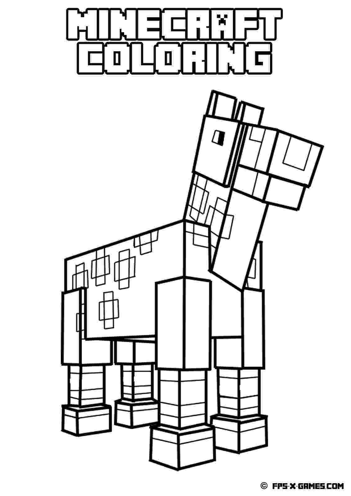 minecraft coloring pages to print 7 best images about minecraft coloring ebook 1 on to print pages minecraft coloring