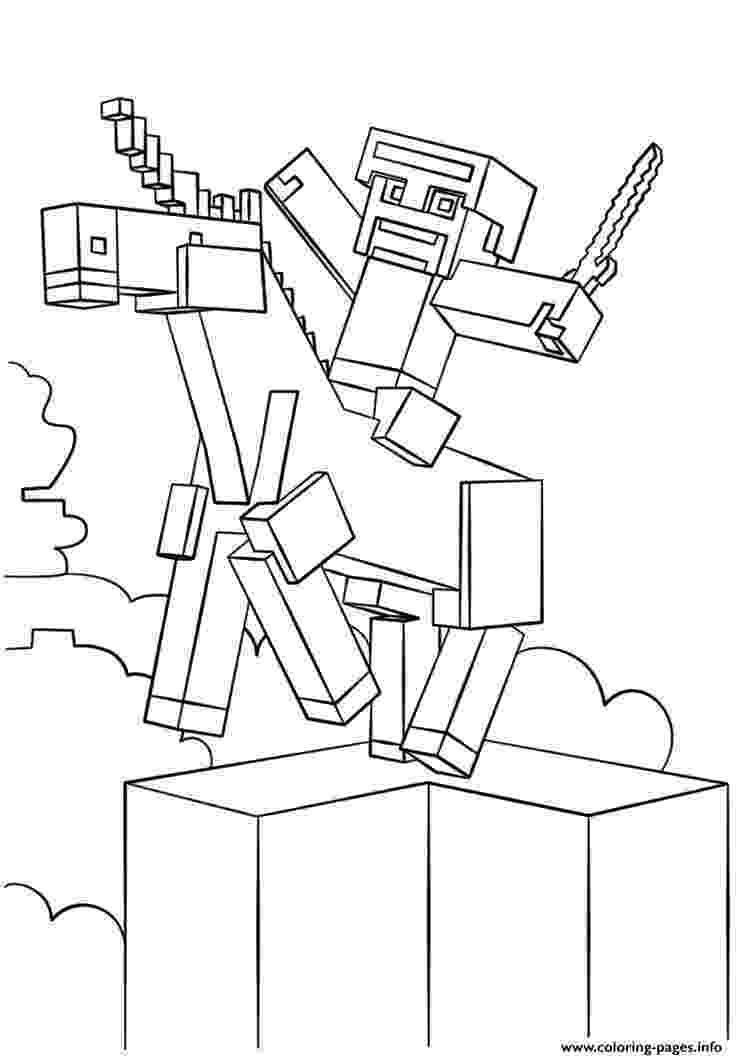minecraft coloring pages to print minecraft coloring pages getcoloringpagescom coloring minecraft pages print to