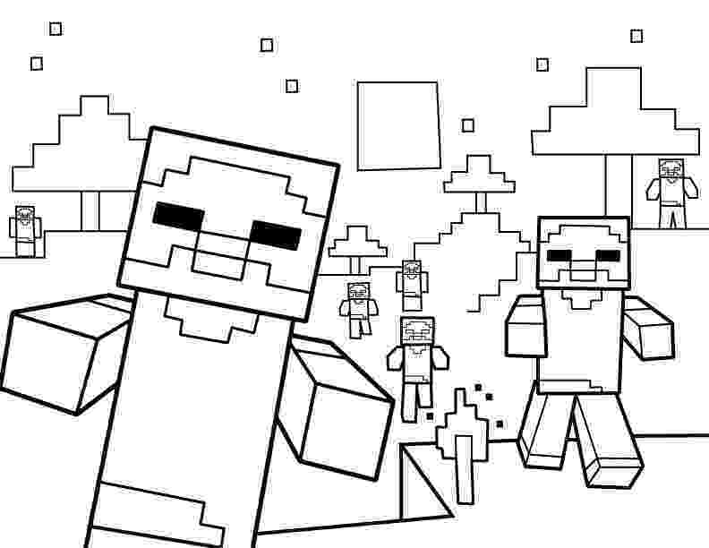 minecraft coloring pages to print printable minecraft zombie coloring page mine craft coloring pages print minecraft to
