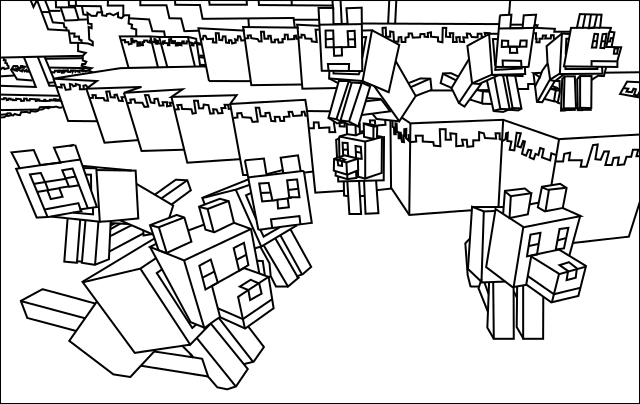 minecraft ghast coloring pages minecraft ghast coloring pages at getcoloringscom free ghast coloring minecraft pages