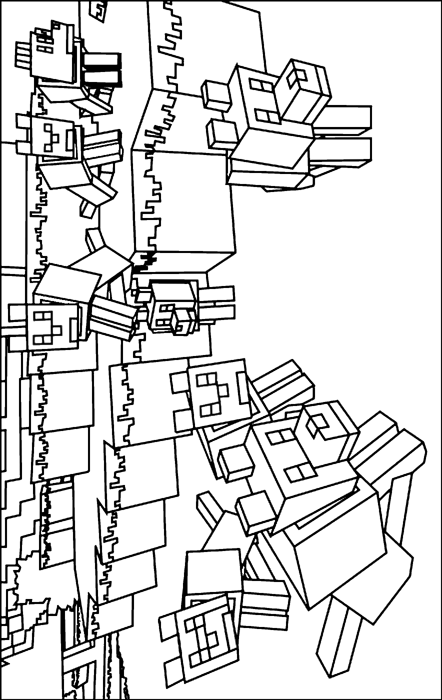 minecraft pictures to print and color minecraft coloring pages and minecraft color print pictures to