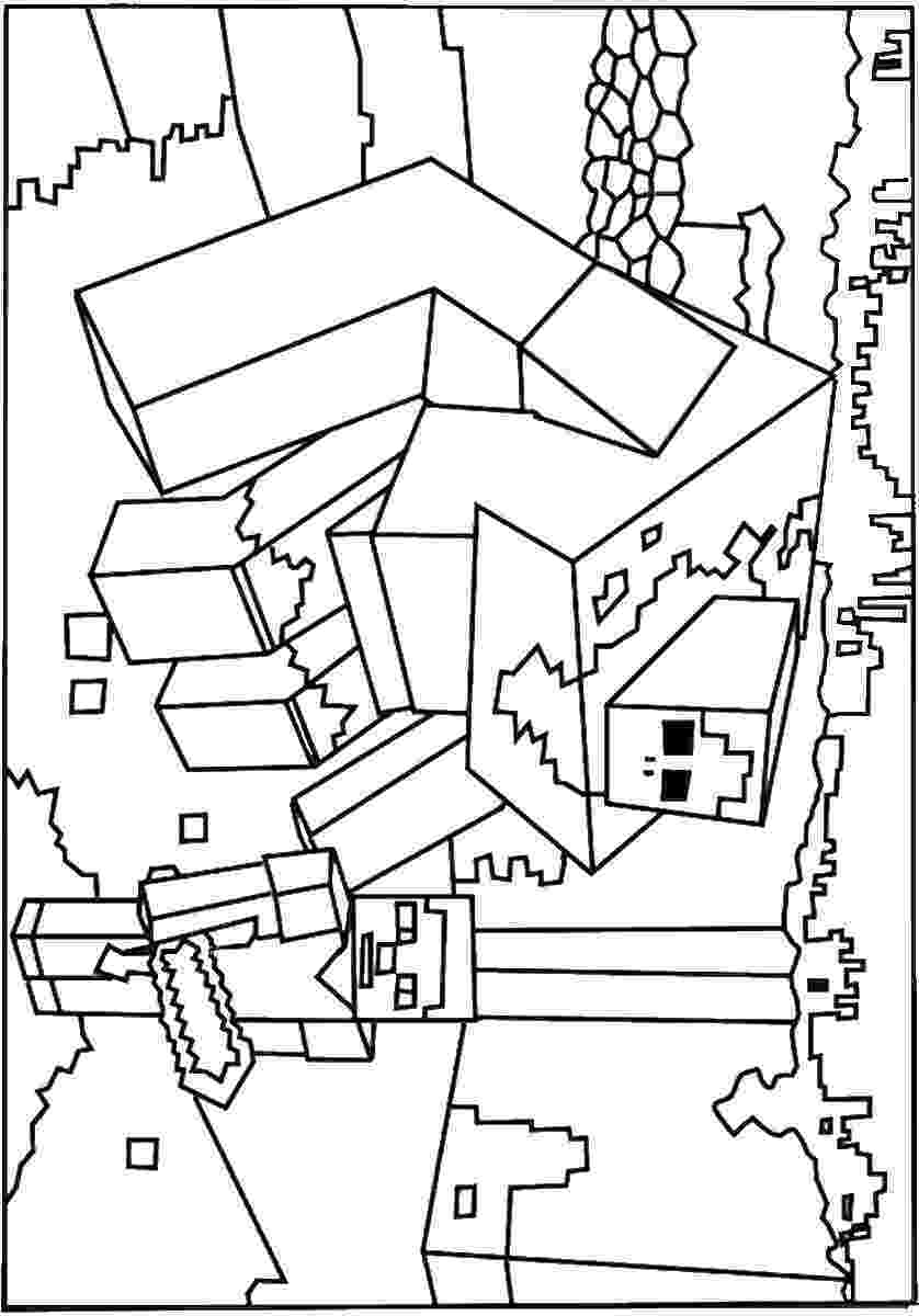 minecraft pictures to print and color minecraft coloring pages best coloring pages for kids to and minecraft color print pictures