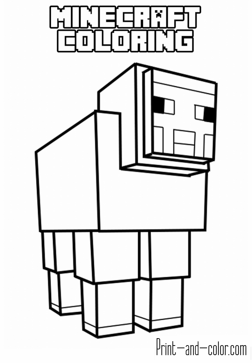 minecraft pictures to print and color minecraft coloring pages print and colorcom to and minecraft print pictures color