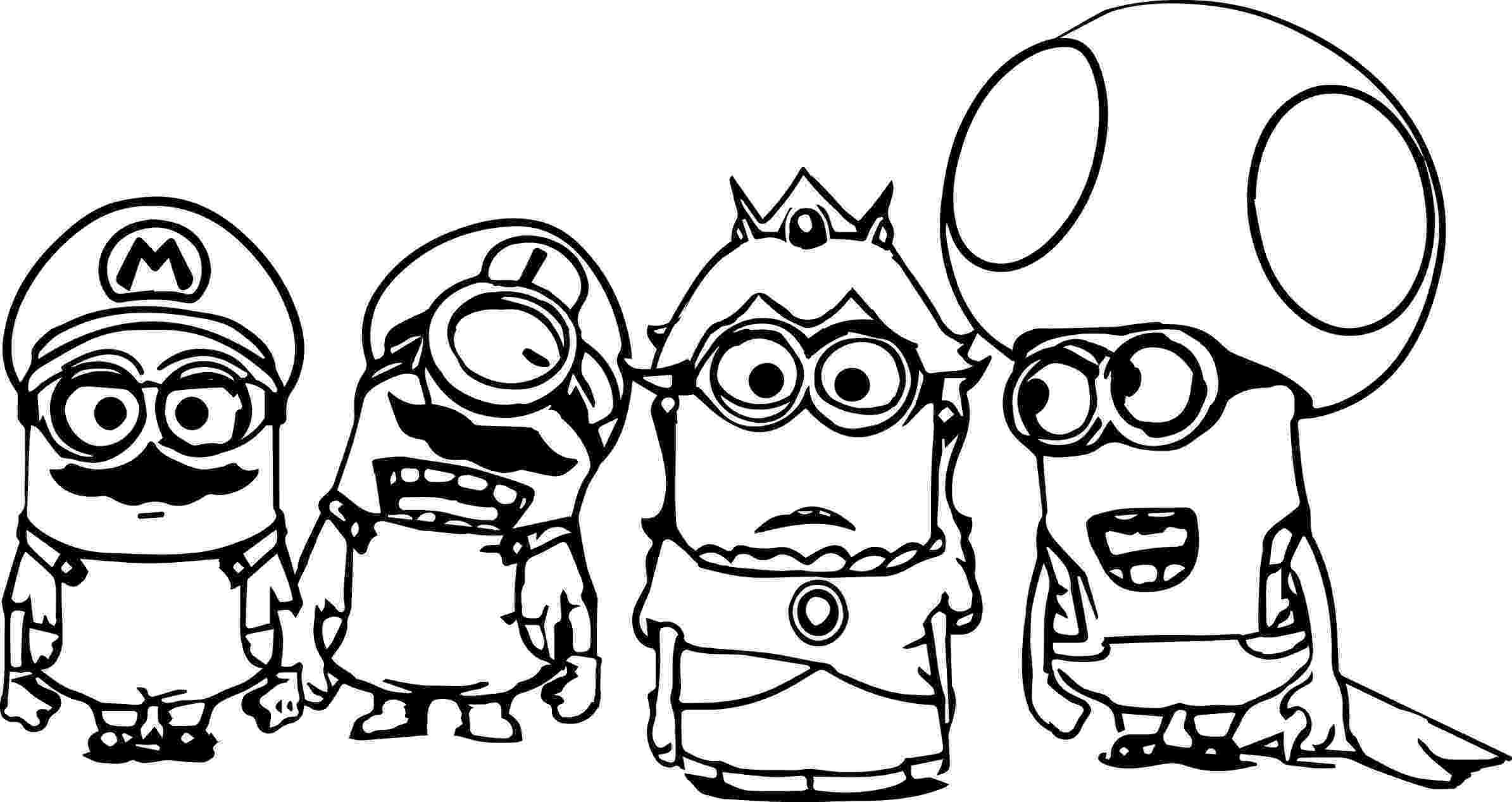 minion colouring pictures to print minion coloring pages from despicable me for free pictures colouring minion