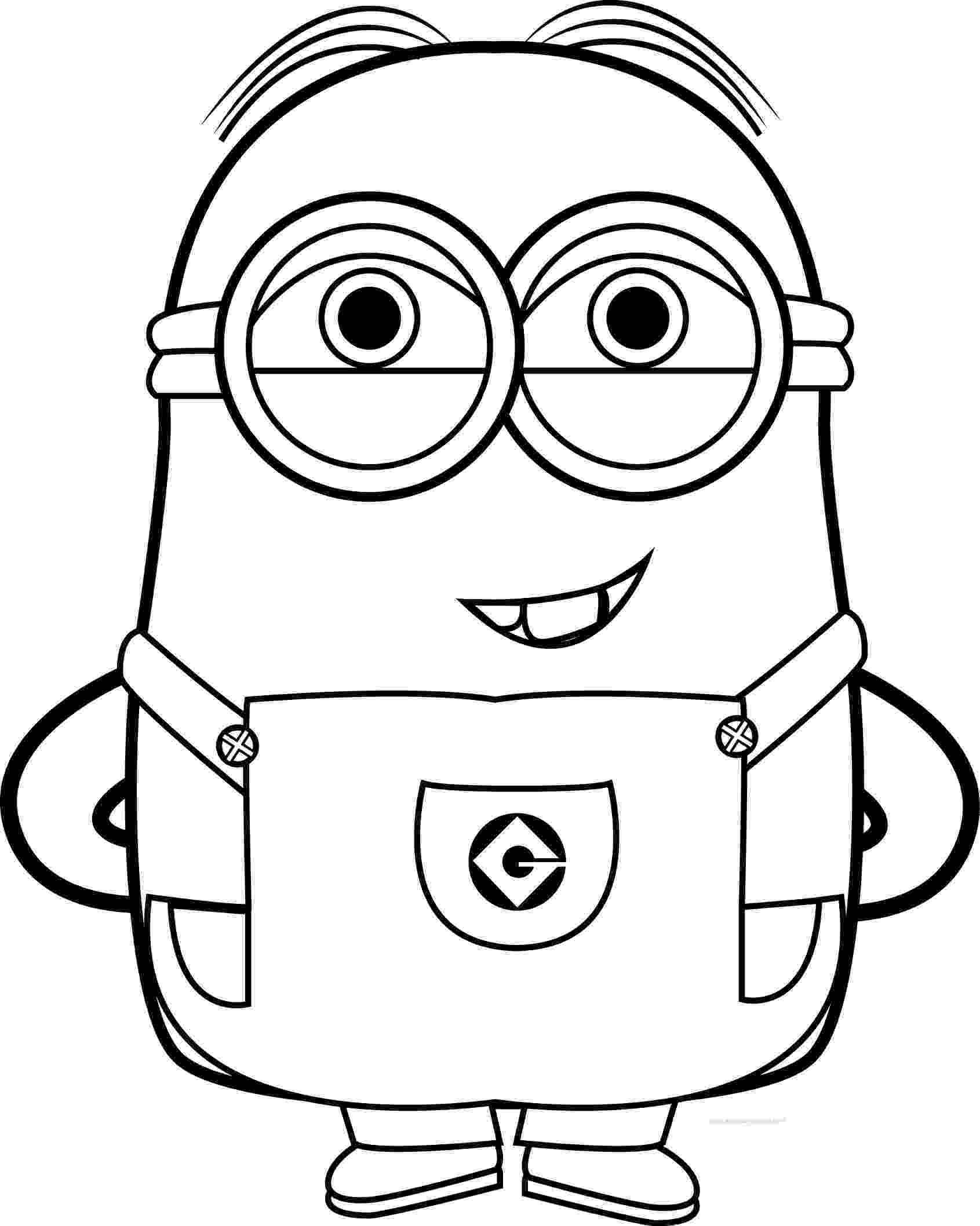 minions black and white best funny minions quotes and picture coloring page minions black white and