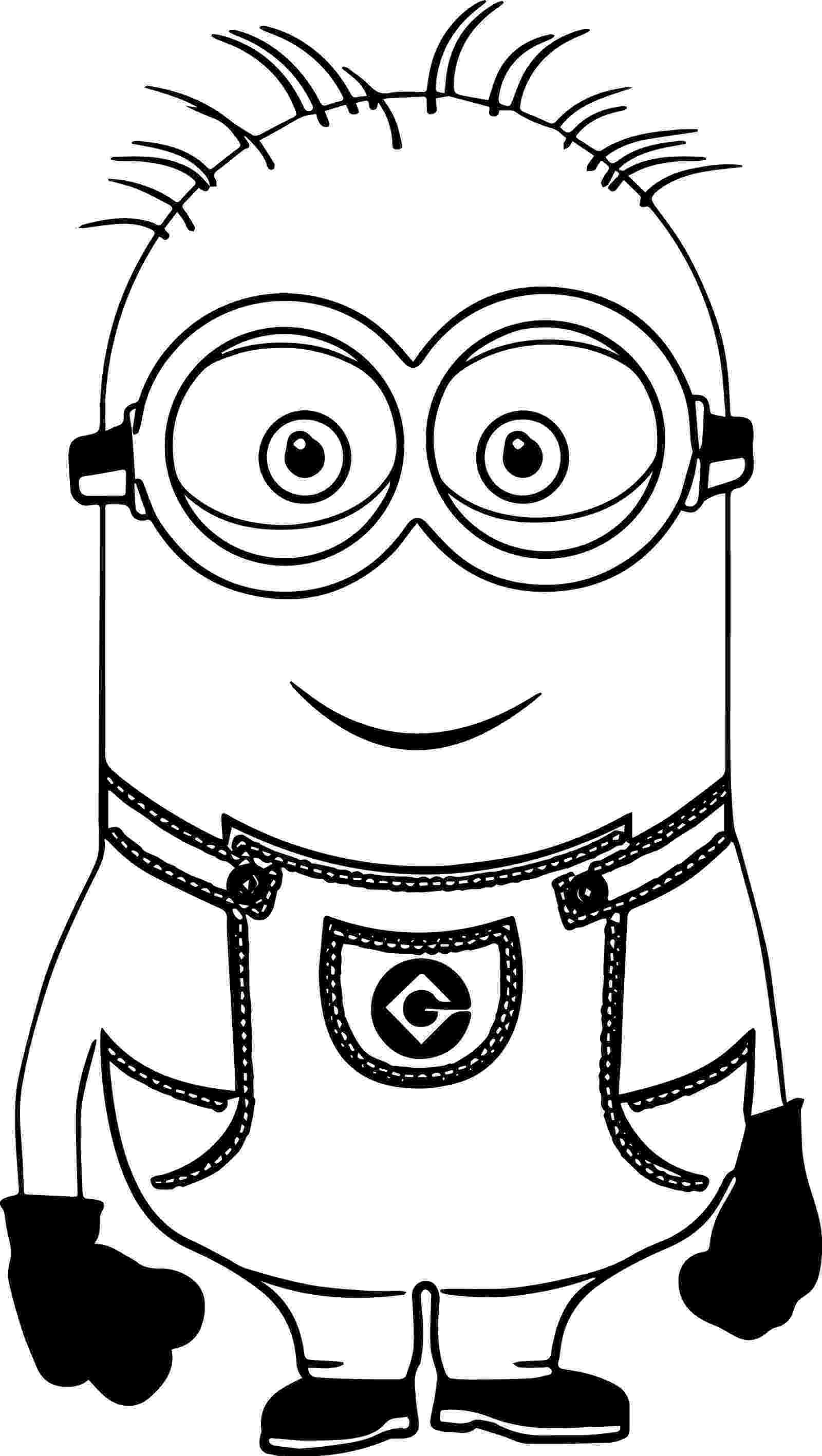 minions black and white cute bob and bear minions coloring page minion coloring black minions white and