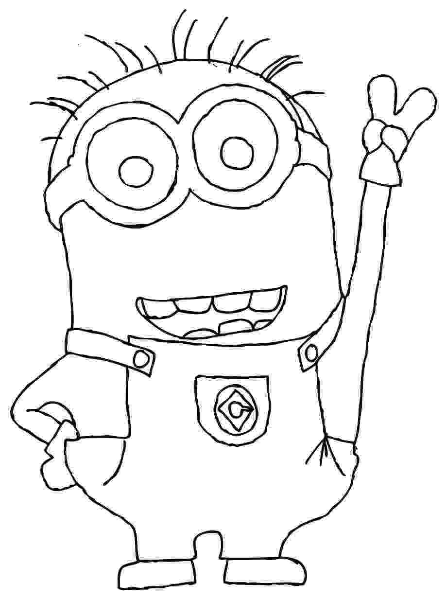 minions black and white free coloring pages printable pictures to color kids and white minions black