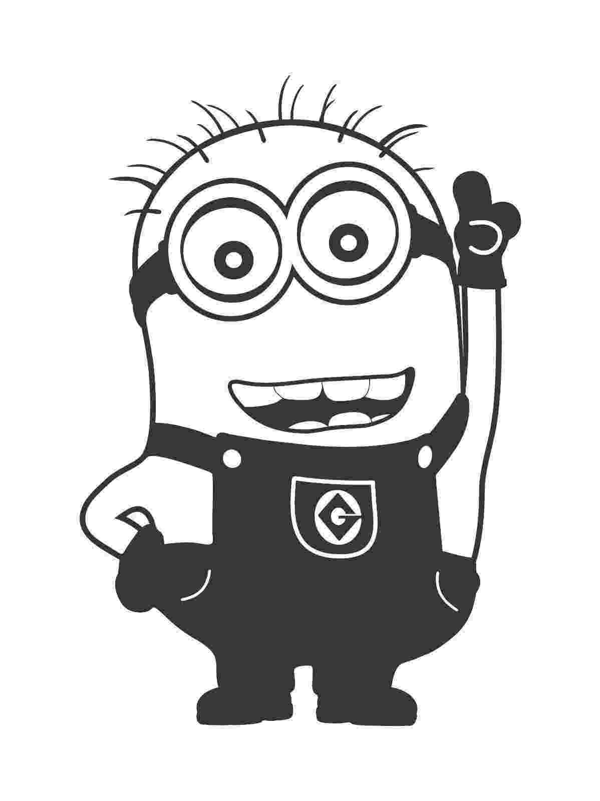 minions black and white minion clipart black and white google search bl minions black and white