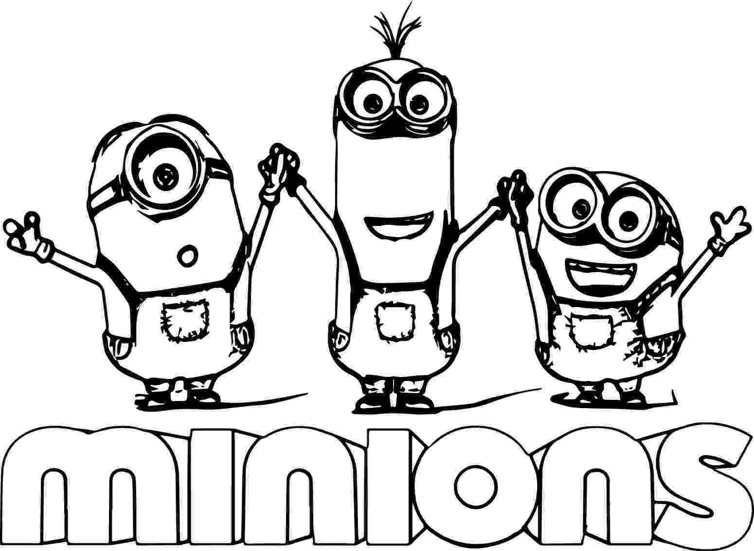 minions black and white minion text minions backyard bash coloring page minions white black and