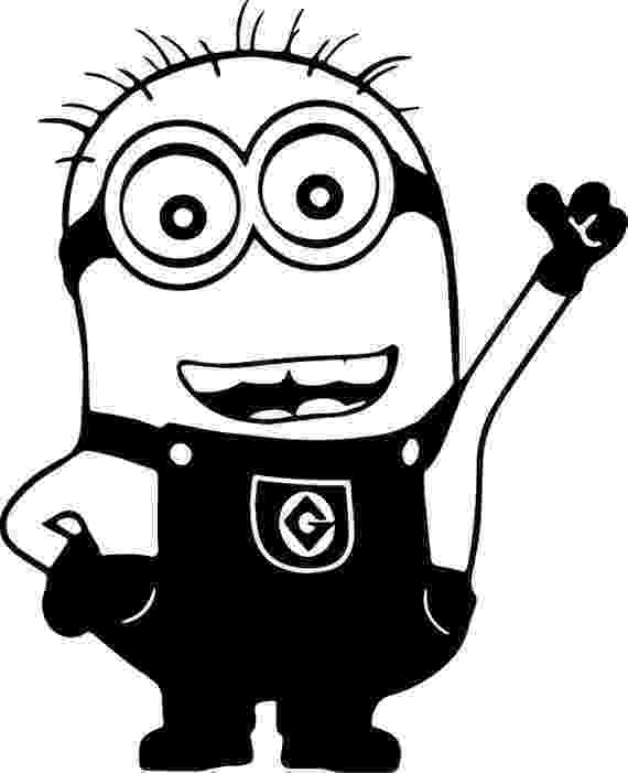 minions black and white vinyl minion decals one eye minion two eye minion minion white and black minions