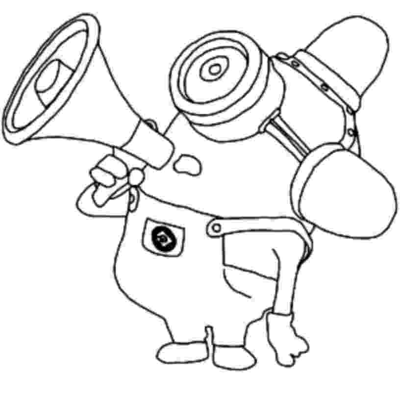 minions colouring pictures minion coloring pages free download on clipartmag colouring pictures minions