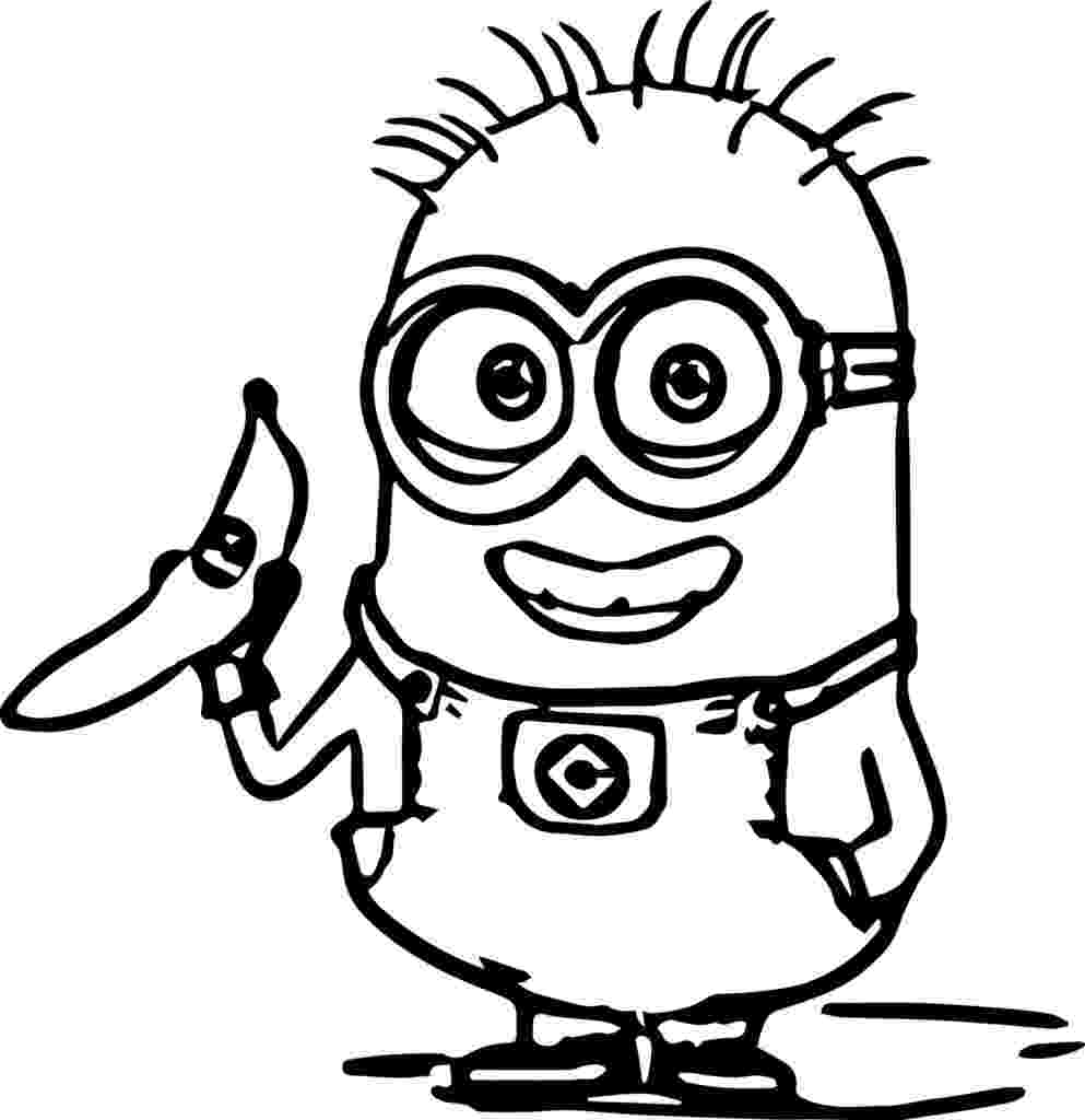 minions colouring pictures print download minion coloring pages for kids to have minions pictures colouring