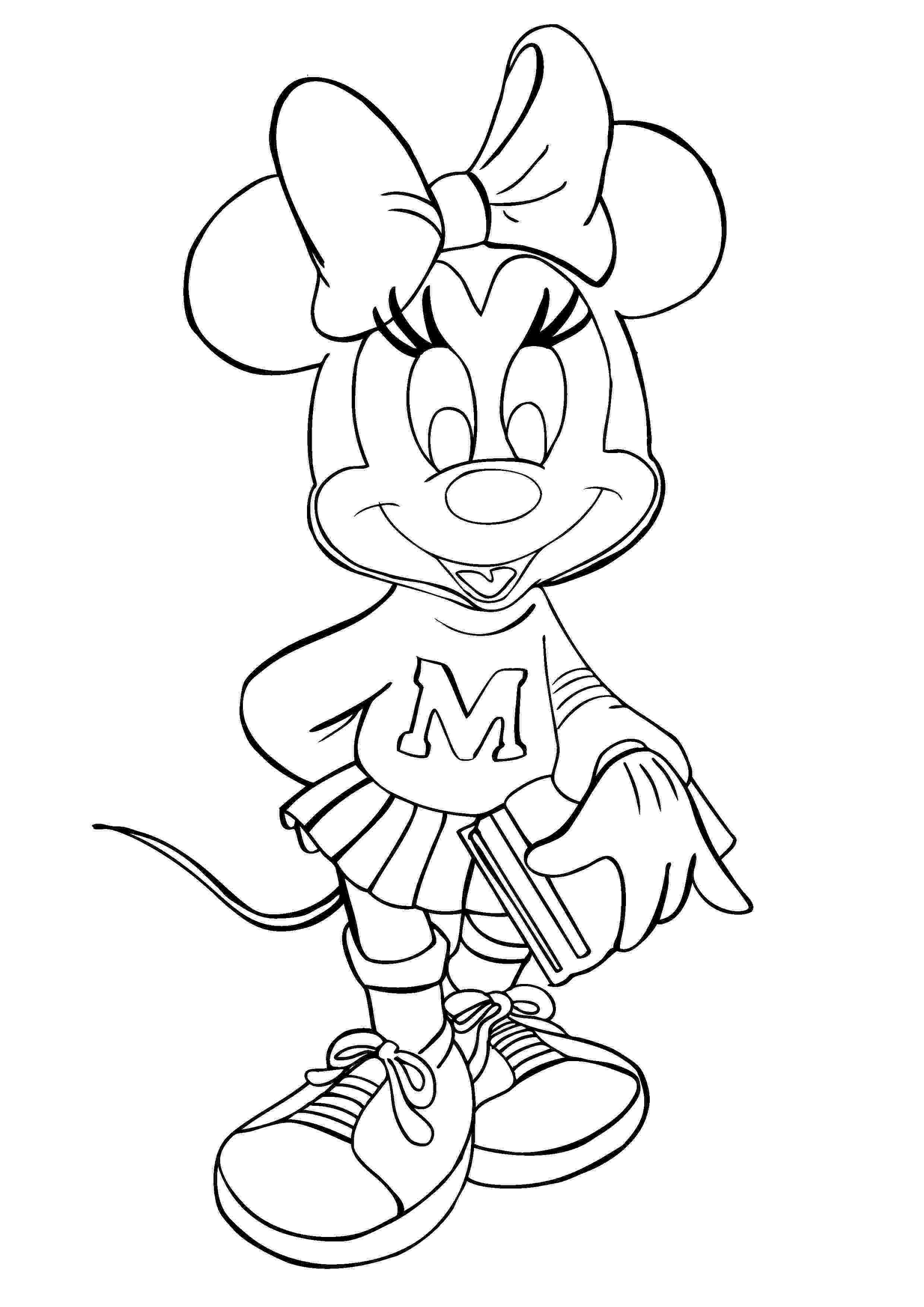 minnie mouse color page minnie mouse coloring pages disney39s world of wonders page mouse minnie color