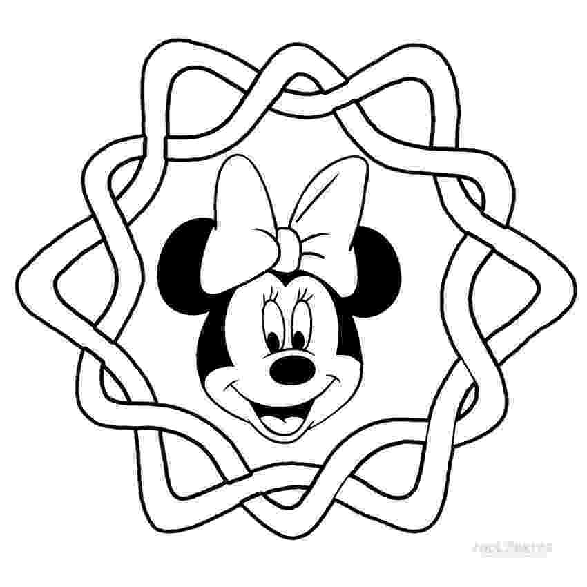 minnie mouse color page printable minnie mouse coloring pages for kids cool2bkids mouse minnie page color