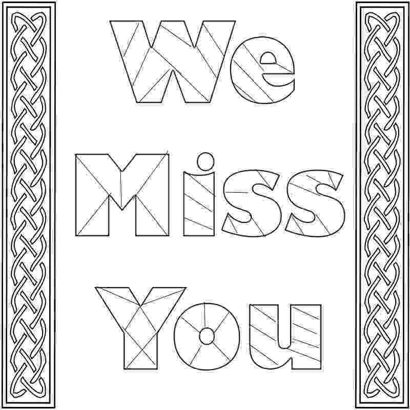 miss you coloring pages i miss you coloring pages you coloring pages miss