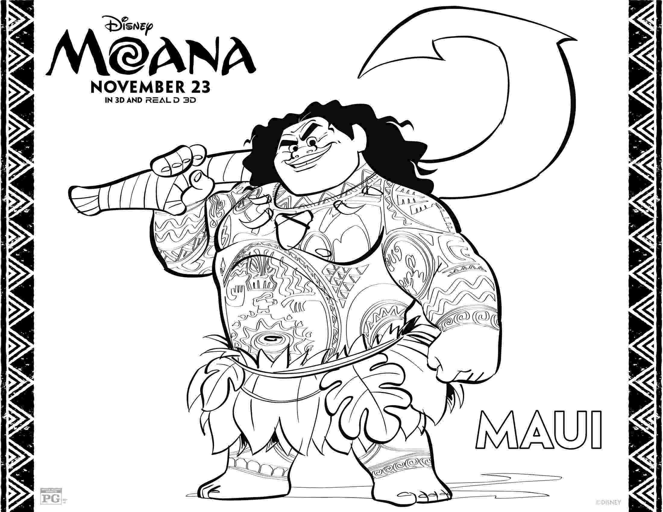 moana coloring printables princess moana coloring page free printable coloring pages coloring moana printables