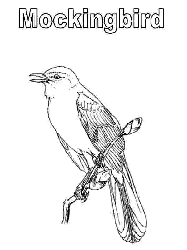 mockingbird coloring page mockingbird coloring download mockingbird coloring for mockingbird page coloring
