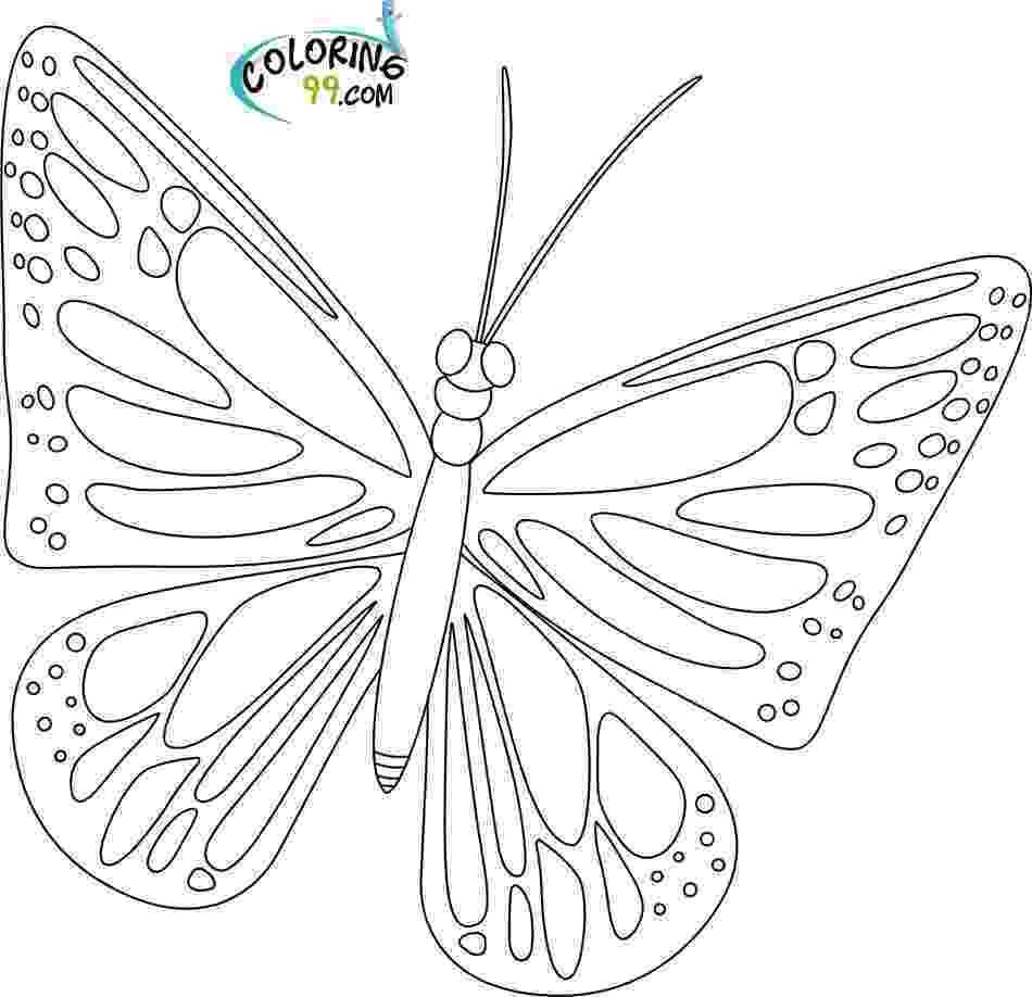 monarch butterfly coloring page butterfly coloring pages team colors page monarch butterfly coloring