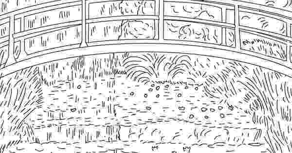 monet colouring pages monet coloring sheets coloriages gratuits de monet pages colouring monet