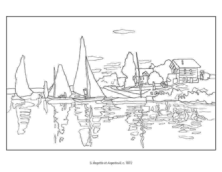 monet colouring pages monet the early years coloring book pages monet colouring