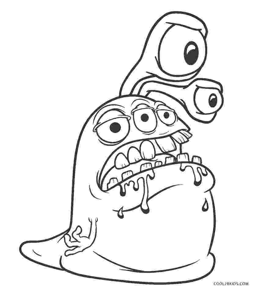 monster coloring monster coloring pages free printables faithfully free coloring monster