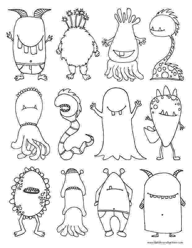 monster coloring monster coloring pages to download and print for free coloring monster 1 1