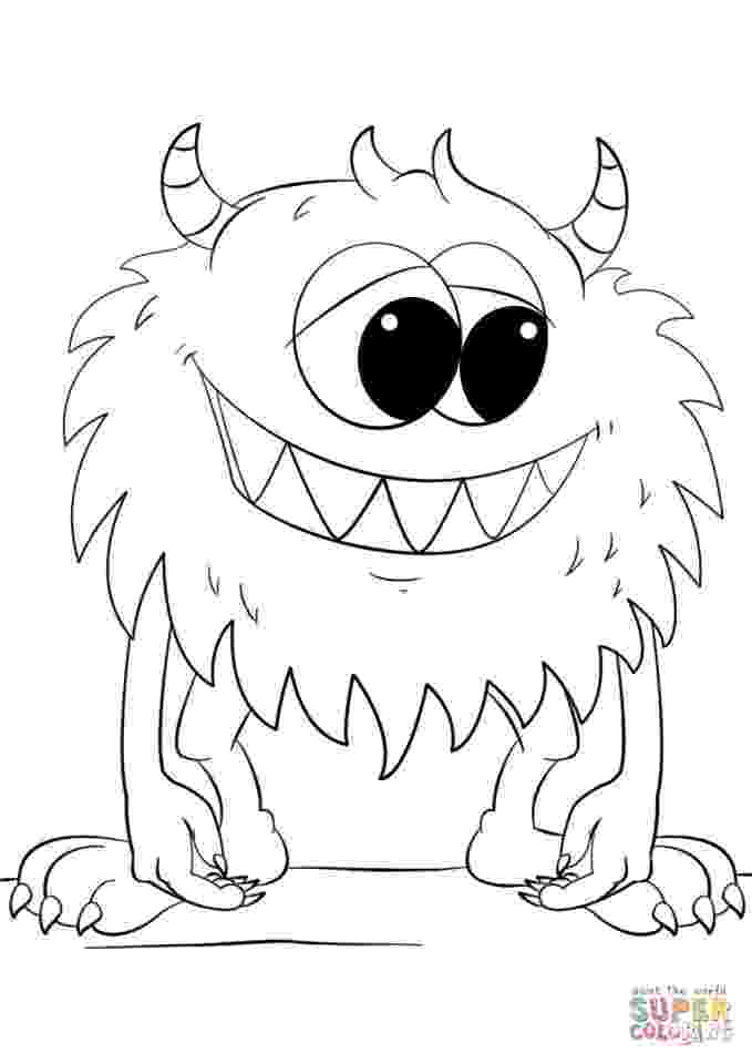 monster coloring pages for kids printable free printable monster coloring pages for kids cool2bkids monster kids for coloring pages printable