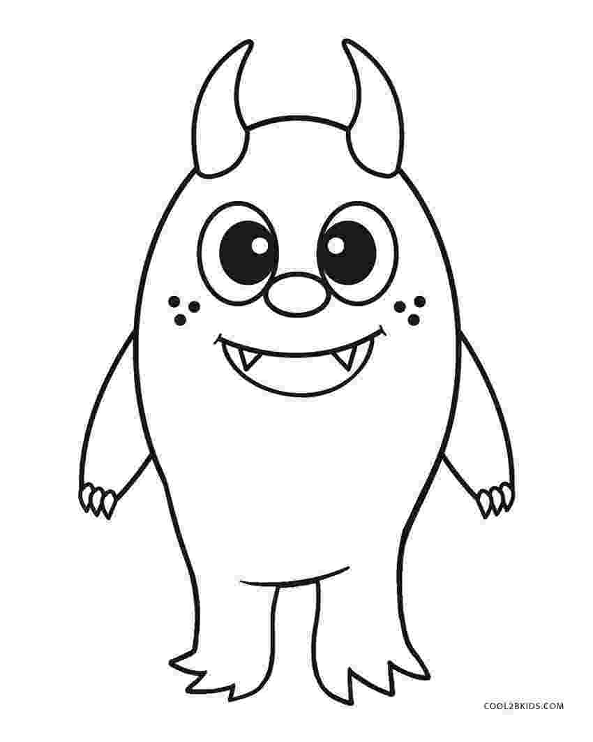 monster coloring pages for kids printable free printable monster coloring pages for kids cool2bkids printable for coloring monster kids pages