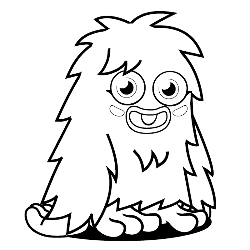 monster coloring pages for kids printable monster pictures for kids monsters 3 monsters for monster kids coloring pages printable