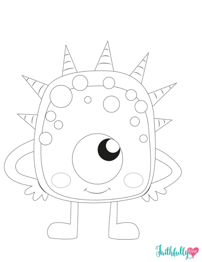 monster coloring pages for kids printable monsters coloring pages getcoloringpagescom for kids pages monster printable coloring