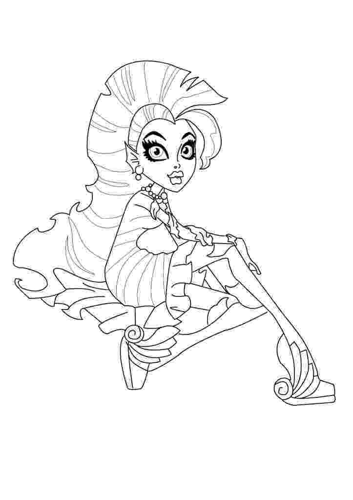 monster high coloring pages for free monster high jinafire long coloring pages free printable monster coloring free pages high for