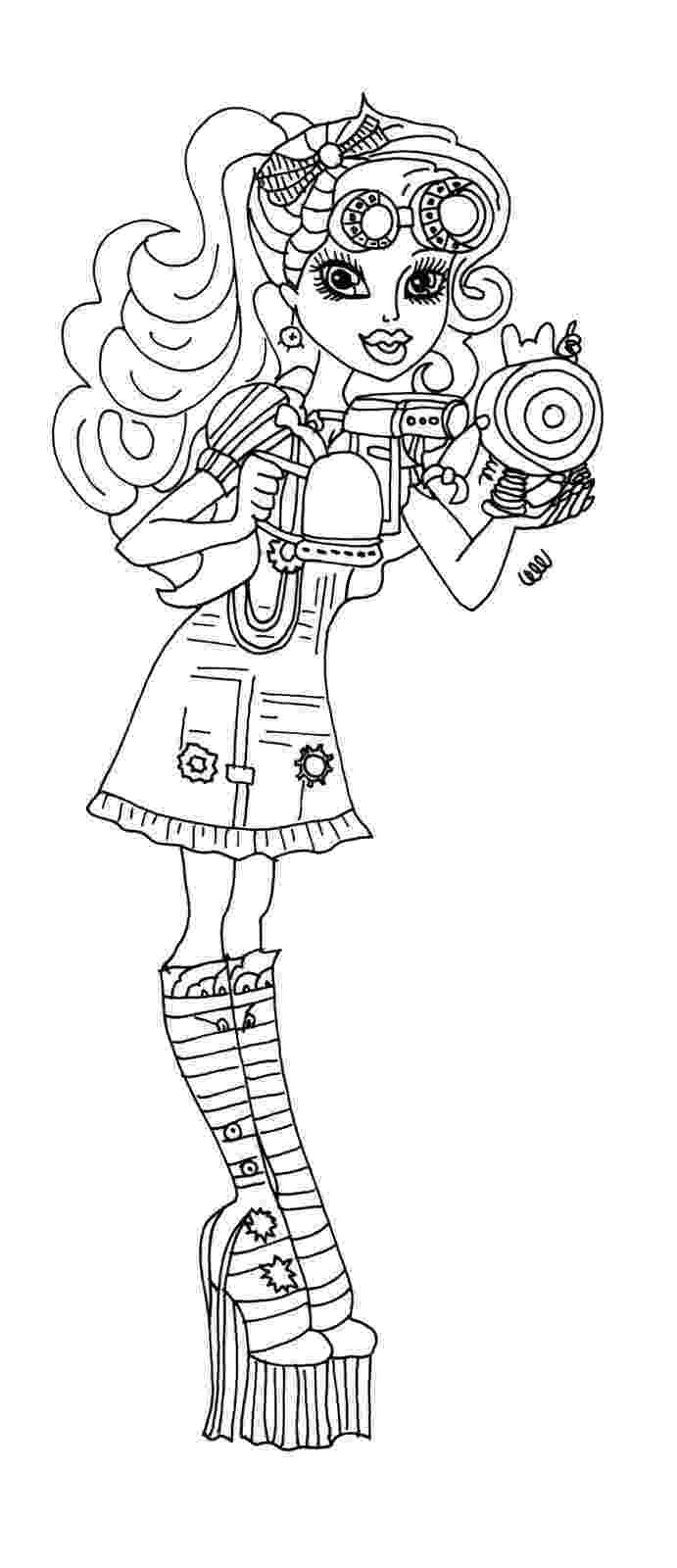 monster high coloring pages robecca steam monster high robecca steam hold head coloring page pages coloring high monster steam robecca