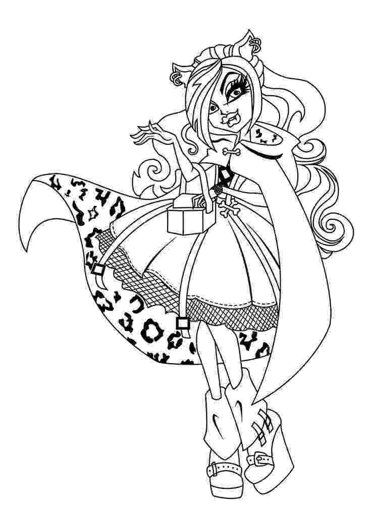 monster high colouring sheets coloring pages for girls dr odd monster sheets colouring high