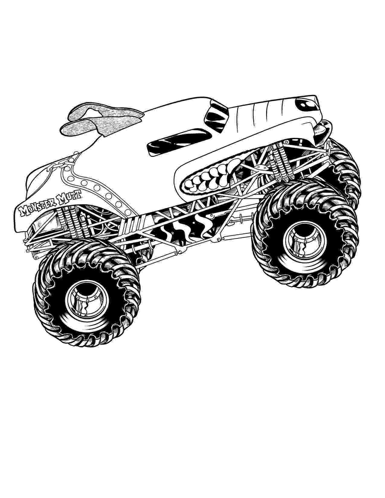 monster trucks colouring pages drawing monster truck coloring pages with kids trucks pages monster colouring