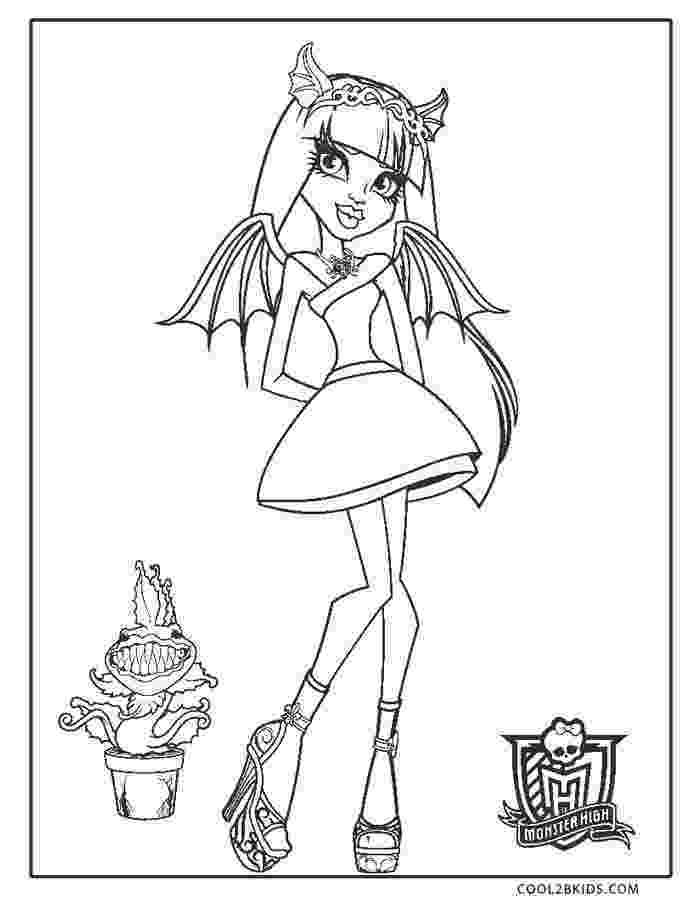 monsters high coloring pages free printable monster high coloring pages for kids pages coloring monsters high 1 1