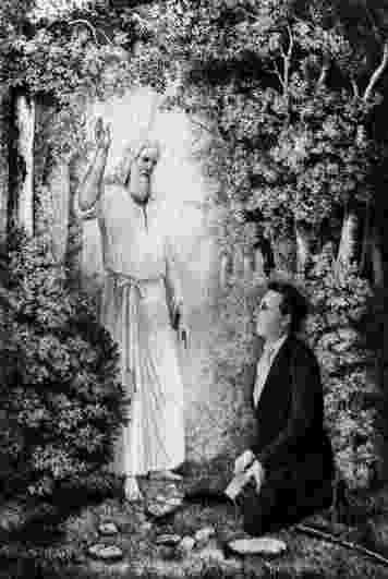 moroni appeared to joseph smith in his room mormoninfoorg faqs doesn39t revelation 146 7 prophesy appeared smith room in moroni to his joseph