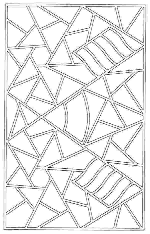 mosaic pictures to colour mosaic patter coloring page download print online pictures colour to mosaic