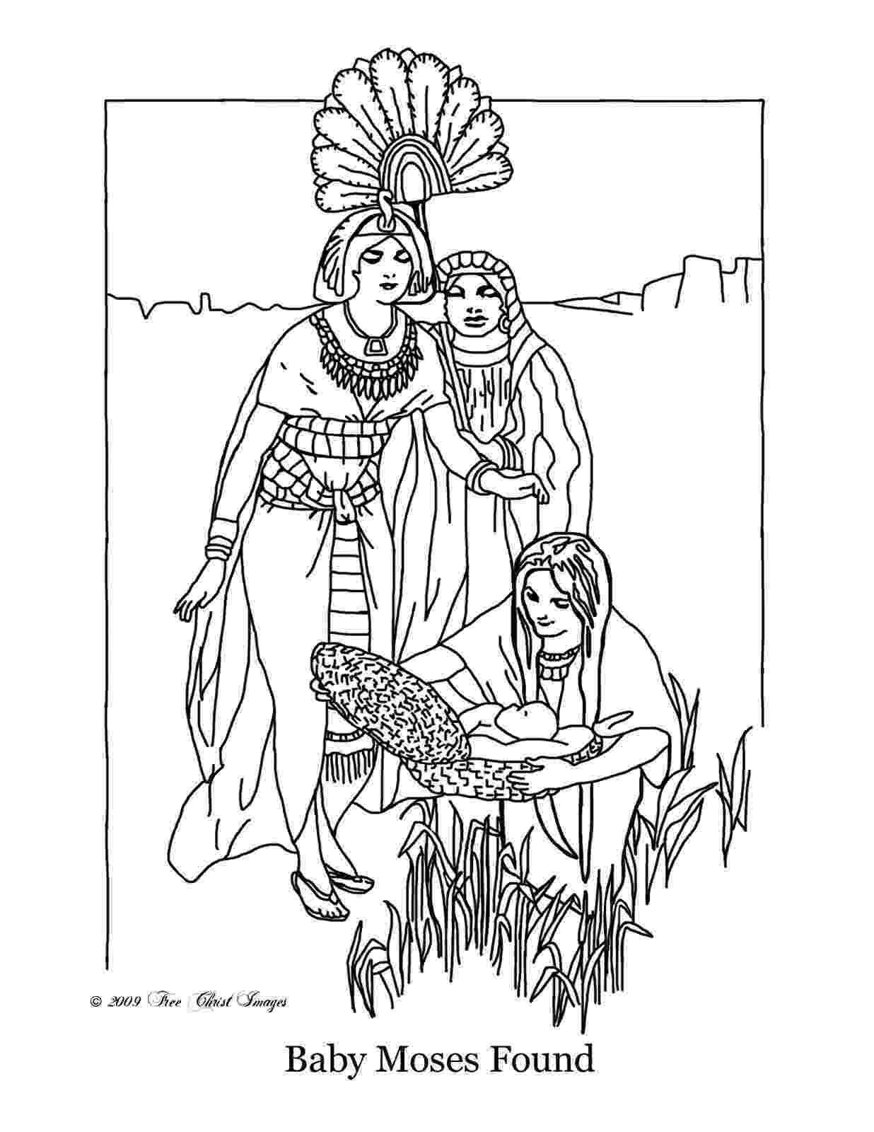moses coloring pages burning bush moses netart pages coloring moses