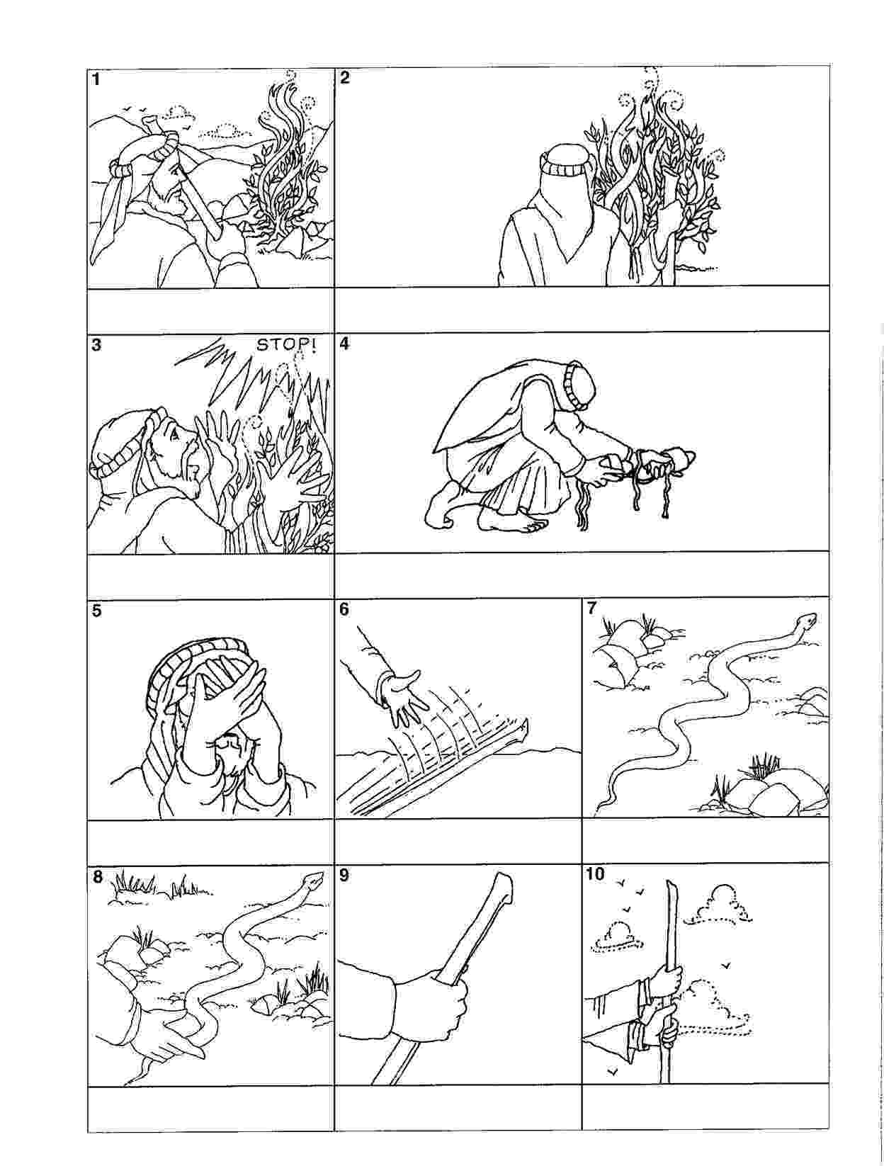moses coloring pages god takes care of us coloring page project bumblebees moses pages coloring