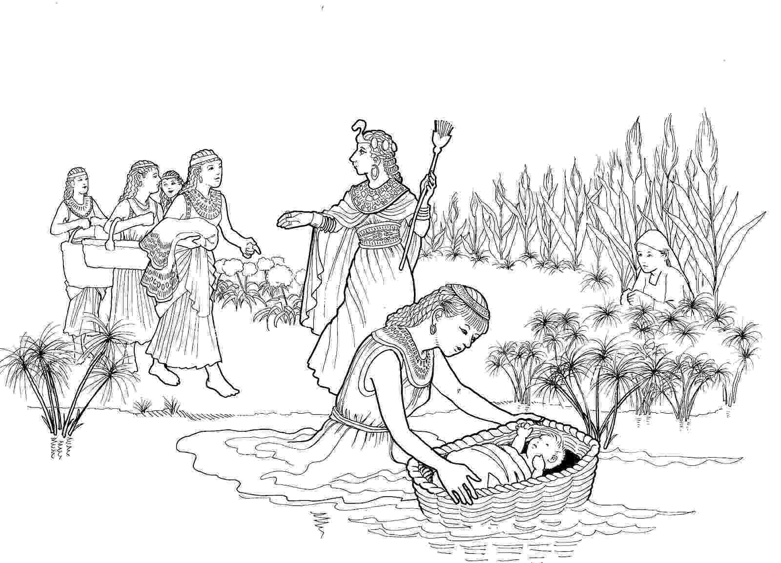 moses coloring pages printable moses coloring pages for kids cool2bkids pages coloring moses