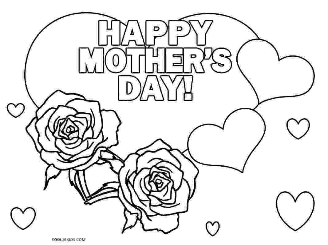 mothers day coloring pages preschool free printable mothers day coloring pages for kids mothers preschool coloring day pages