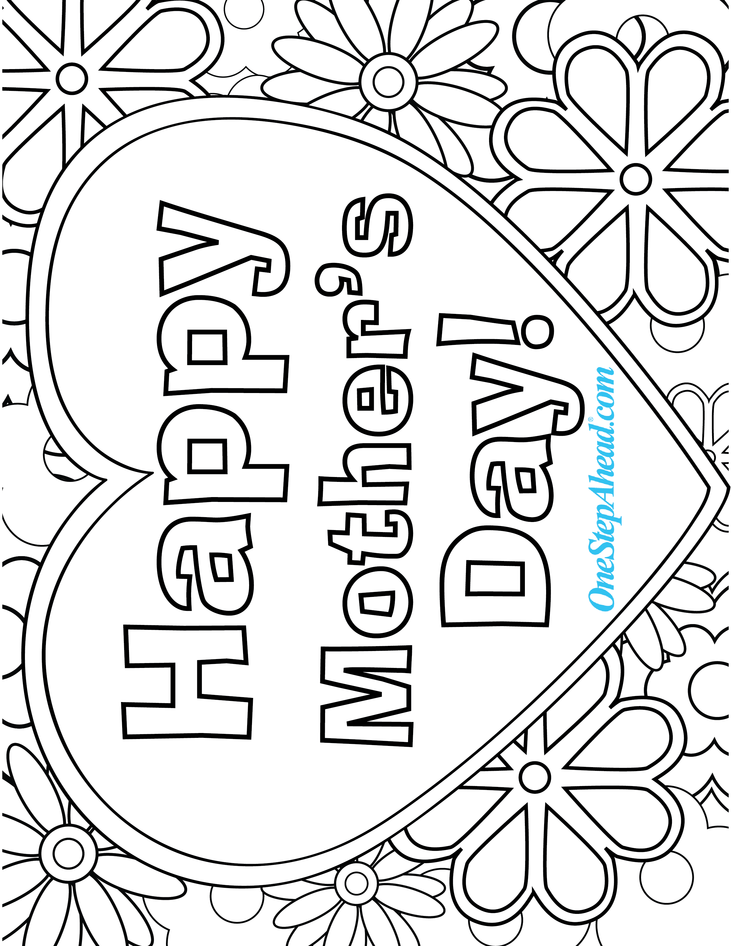 mothers day coloring pages preschool happy mother39s day coloring page myteachingstationcom preschool day pages coloring mothers