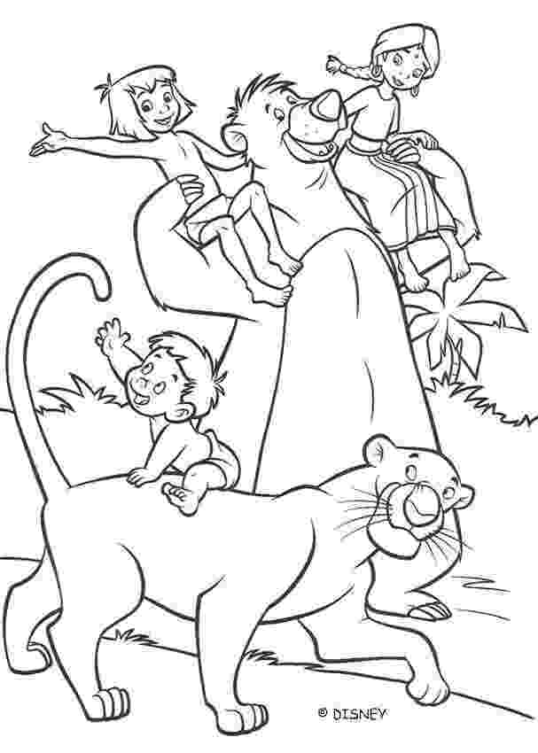 mowgli coloring pages animations a 2 z coloring pages of the jungle book coloring mowgli pages