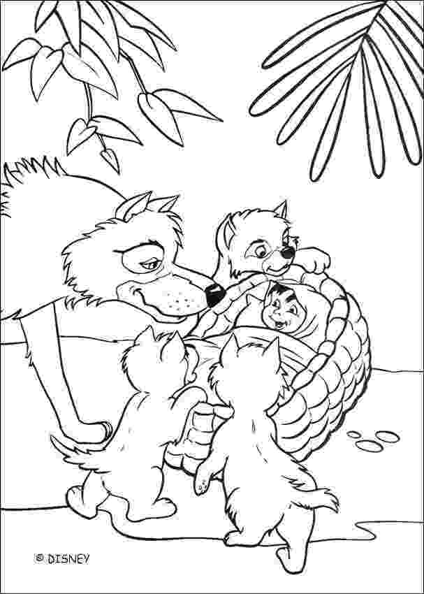 mowgli coloring pages jungle book games games kids online mowgli coloring pages