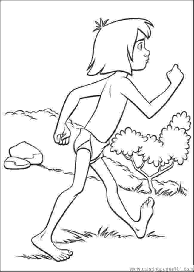 mowgli coloring pages the jungle book coloring pages disneyclipscom coloring pages mowgli