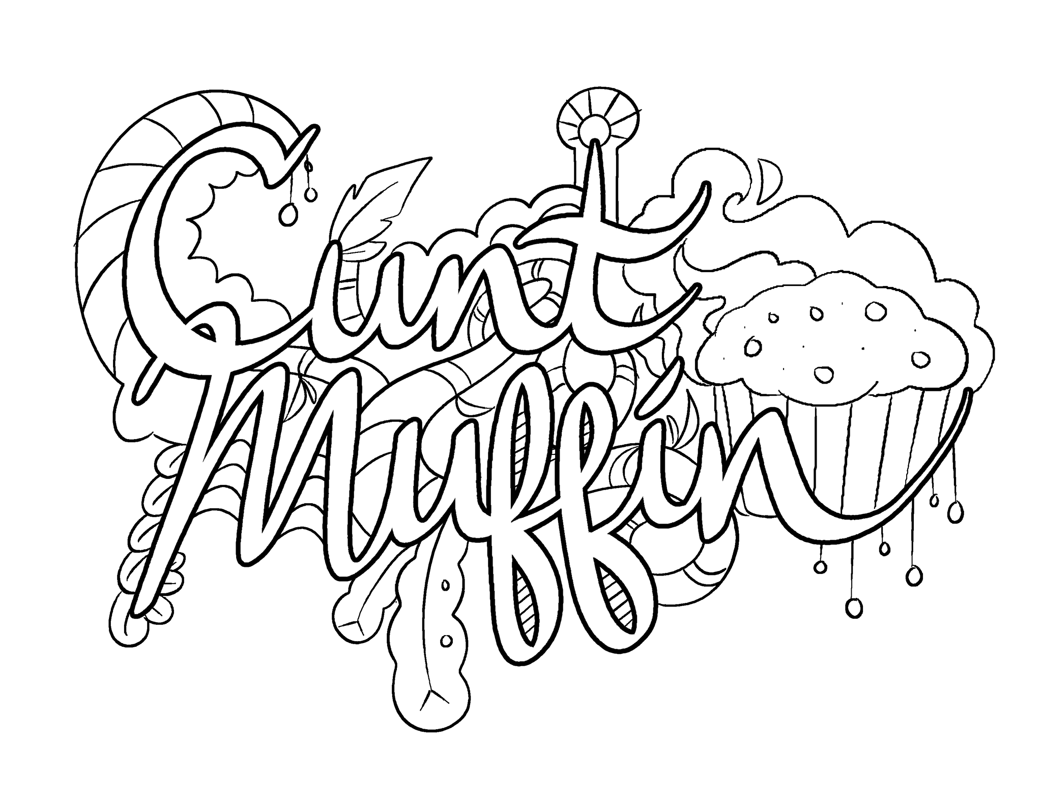 muffin coloring pages coloring page muffin holiday awesomeness pinterest coloring muffin pages