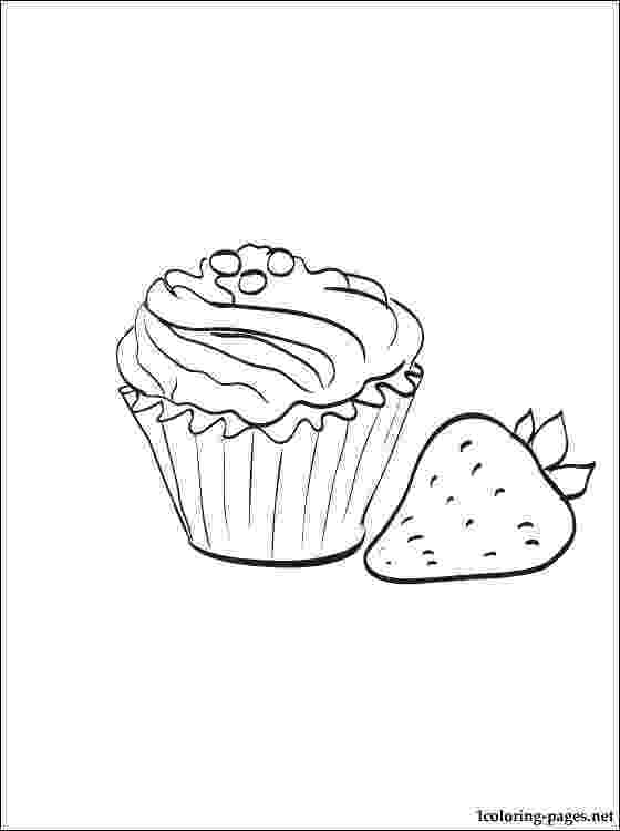 muffin coloring pages dessert coloring pages to download and print for free pages muffin coloring