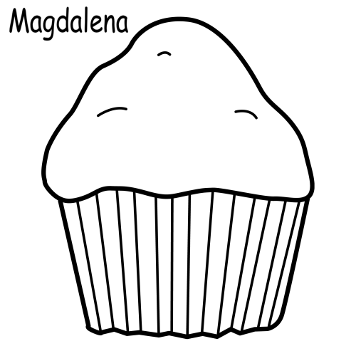 muffin coloring pages muffin and cupcake coloring page free printable coloring muffin pages coloring